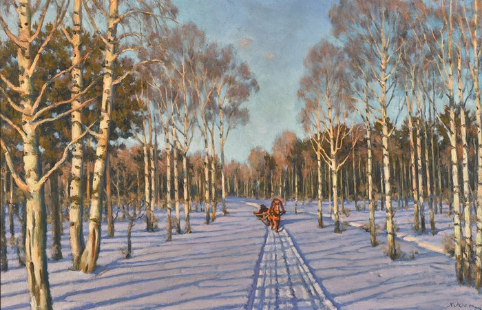 Встолице Англии  картину Левитана продали за млн  долларов