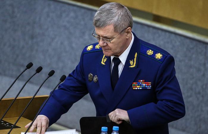 Юрий Чайка призвал ужесточить контроль за НКО