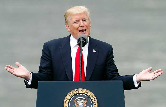 Трамп обнародовал финансовый отчет за 2016 год
