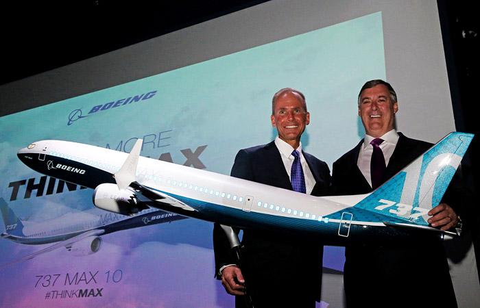 Boeing официально представил новую модификацию авиалайнера 737 Max