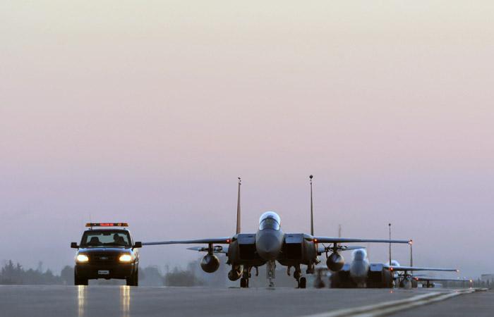 Пентагон объявил о смене диспозиции самолетов коалиции в Сирии