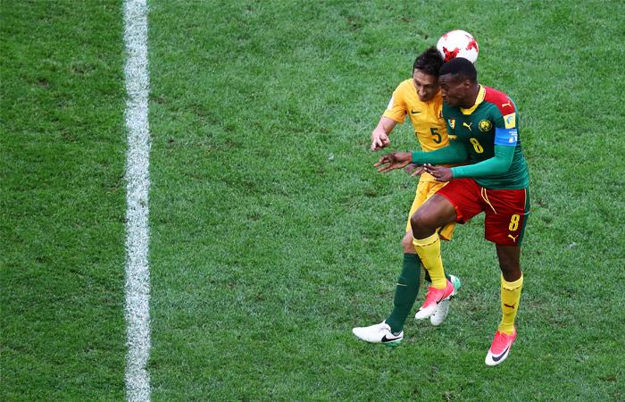 Вовтором матче Кубка конфедераций вПетербурге Камерун сыграл вничью сАвстралией