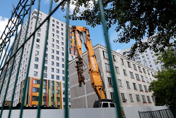 Власти Москвы обещали отказаться от заборов в кварталах реновации