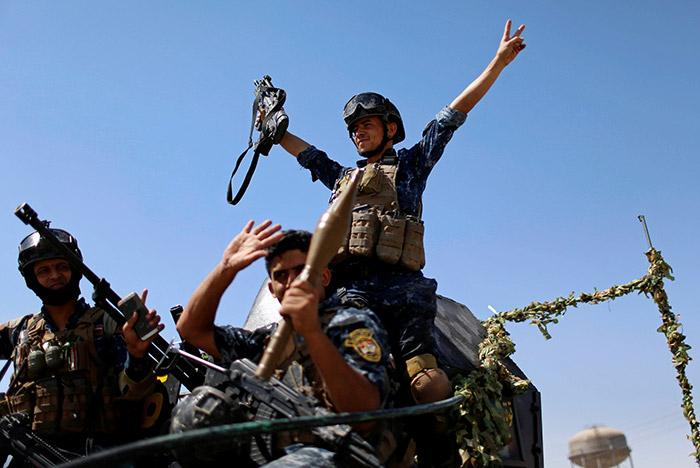 Иракские военные освободили Мосул от террористов ИГ