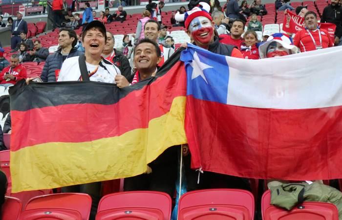 Кубок конфедераций вКазани посетило неменее 150 тыс. болельщиков