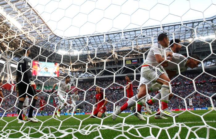 Португалия - Мексика. Онлайн