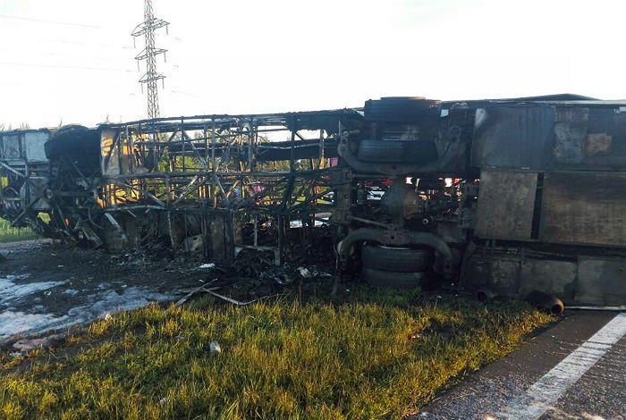 Полиция задержала водителя грузовика после автоаварии в Татарстане