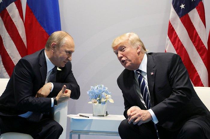Трамп вбеседе сПутиным коснулся «вмешательства» РФ ввыборы вСША