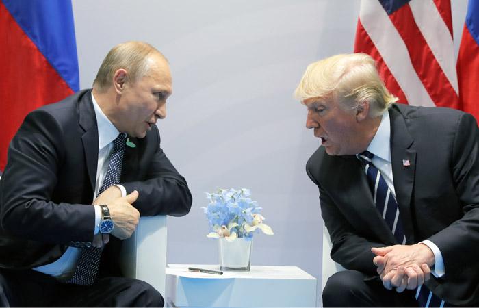 Путин предложил на встрече с Трампом обсудить острые вопросы
