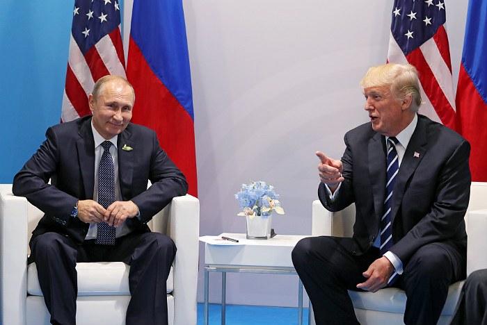 Путин сообщил об установлении личных отношений с Трампом