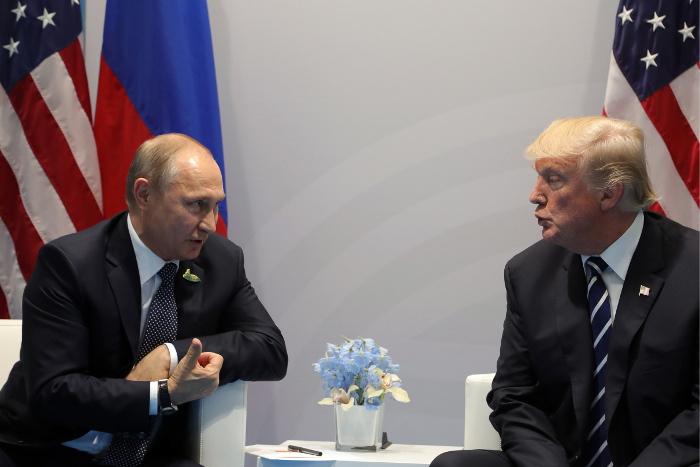 Путин остался доволен встречей с Трампом