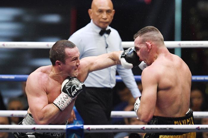 Боксер Денис Лебедев защитил титул чемпиона WBA