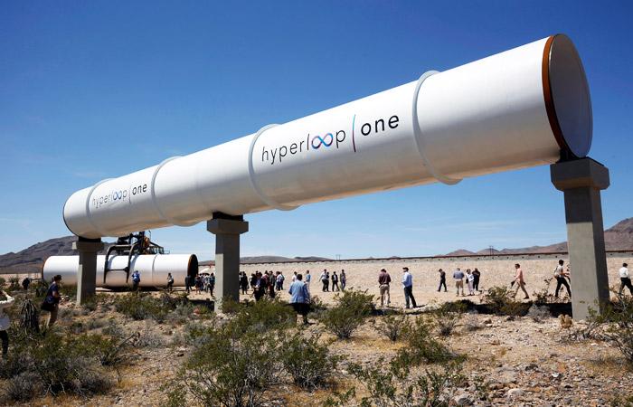 Hyperloop One завершила первый полноценный тест капсулы