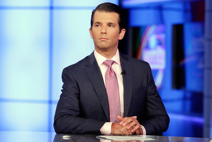 СМИ узнали пикантные детали  овстрече сына Трампа с русским  юристом