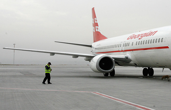 В Тбилиси удивились введенным РФ ограничениям на полеты Georgian Airways в Москву