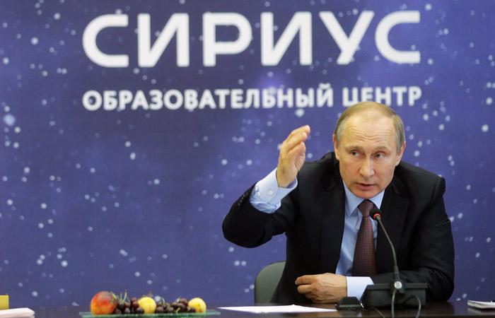 Песков опроверг связь между встречей Путина со школьниками и избирательной кампанией