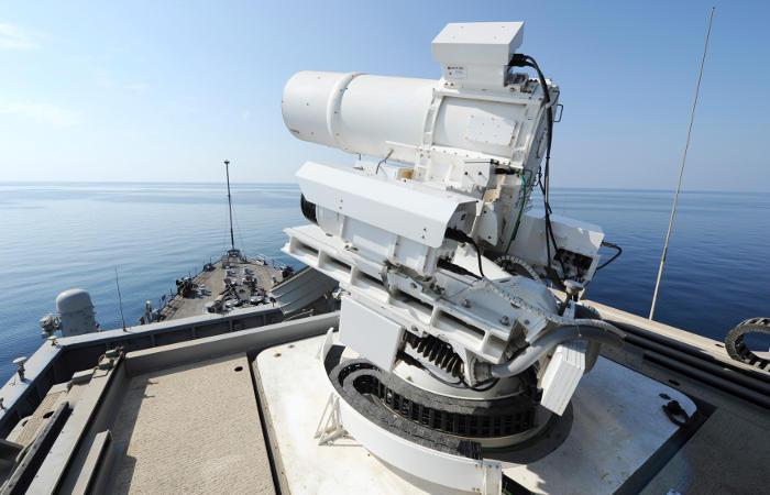 США использовали лазерное оружие в Персидском заливе
