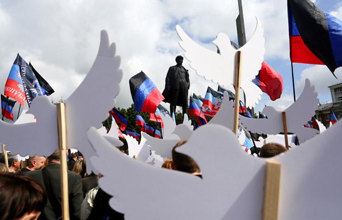 Большинство россиян выступили за раздельное существование ДНР, ЛНР и Украины