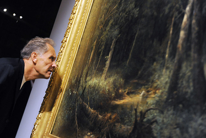 Самым известным среди россиян живописцем оказался Иван Шишкин