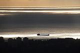 В Черном море неподалеку от Ялты перевернулся сухогруз