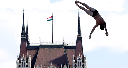 Хай-дайвинг в Венгрии