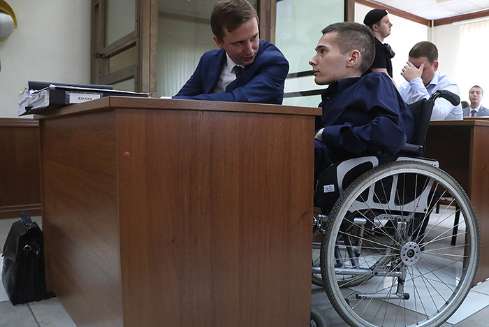 Суд смягчил приговор инвалиду Мамаеву