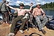 Владимир Путин и министр обороны Сергей Шойгу на отдыхе