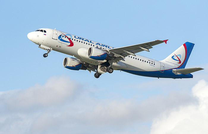 «Уральские авиалинии» отправили 1-ый рейс из«Жуковского» вТбилиси