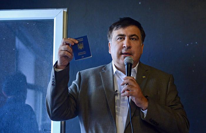 Саакашвили объявил , что въехал вПольшу спаспортом Украины