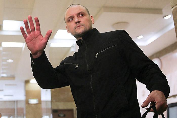 Оппозиционер Сергей Удальцов вышел на свободу