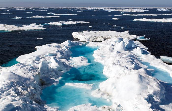 Скорость таяния подводной мерзлоты на арктическом шельфе превысила ожидания ученых