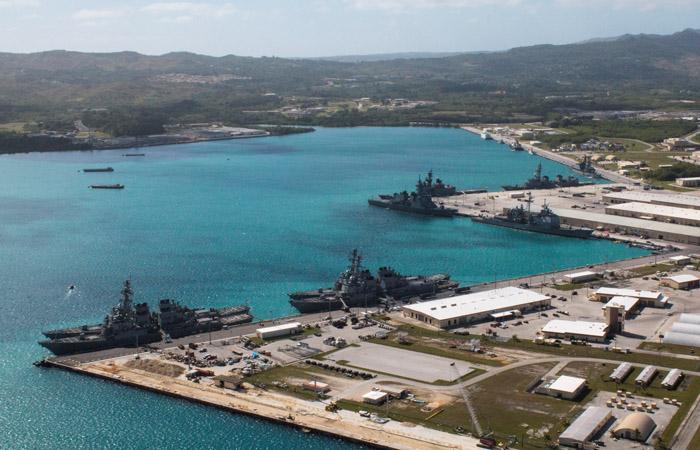 КНДР рассматривает план удара поамериканскому острову Гуам