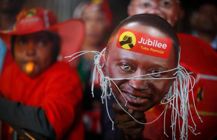 ВКении переизбрали президента страны