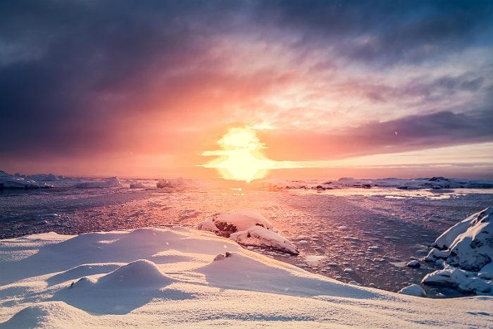 Ученые нашли в Антарктиде 91 новый вулкан
