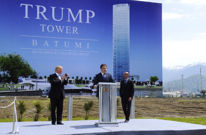 В Грузии раскритиковали The New Yorker из-за материалов о Trump Tower в Батуми