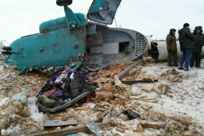 МАК проинформировал причины крушения Ми-8 наЯмале в 2016г.