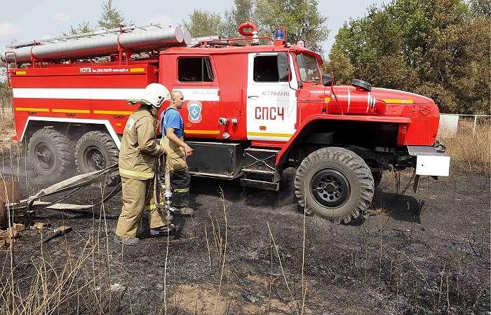 Путин поручил разобраться в причинах пожаров в Ростове-на-Дону и Волгоградской области