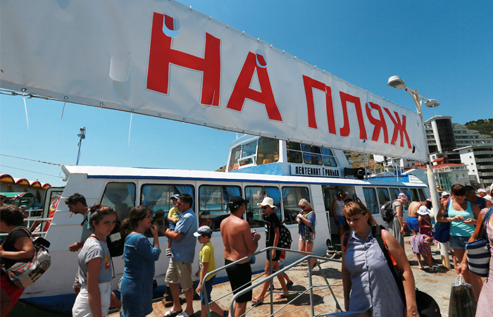 Турпоток вКрым просел на20%