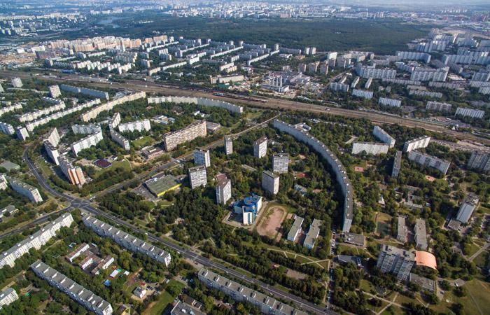 Московские районы Западное и Восточное Бирюлево соединили эстакадой