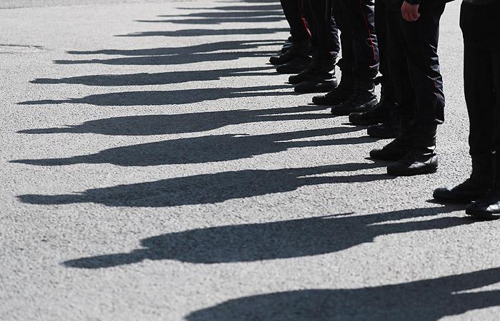 Сотни мусульман вышли на акцию протеста в центре Москвы