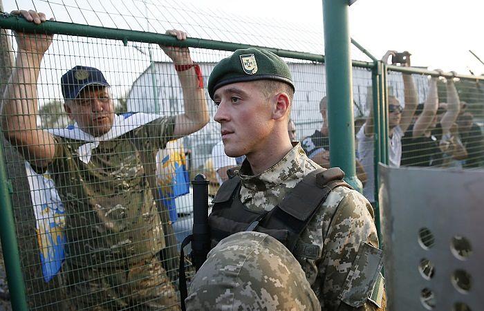 ВУкраинском государстве  начались «репрессии» против приверженцев  Саакашвили