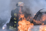 Возле московского офиса адвоката Учителя подожгли два автомобиля
