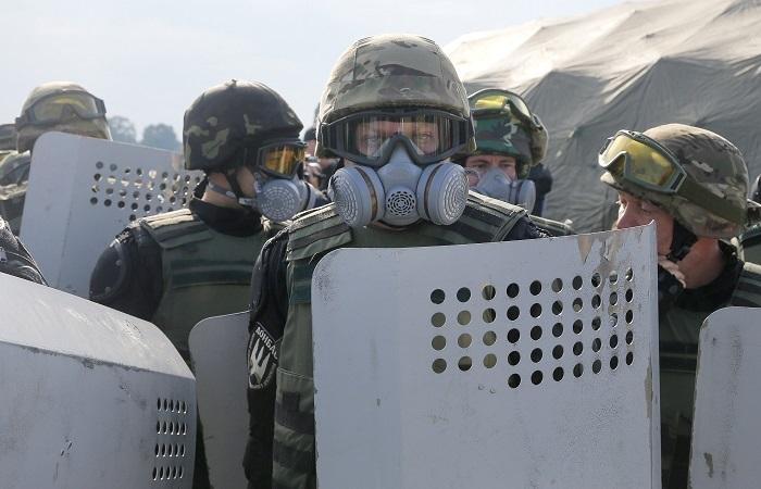 В Киеве обвинили Саакашвили и его соратников в незаконном массовом пересечении границы