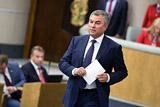 """Володин отказался связывать акции против """"Матильды"""" с позицией Поклонской"""