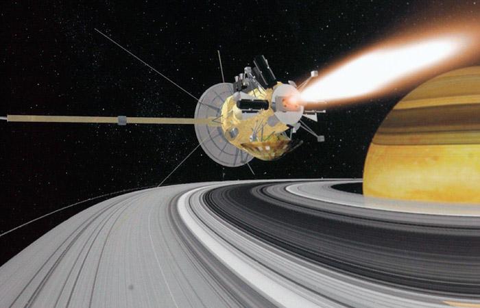 Зонд «Кассини» закончил свою миссию поизучению Сатурна, сгорев ватмосфере