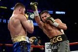 Бой казахстанского боксера Головкина и мексиканца Альвареса завершился ничьей