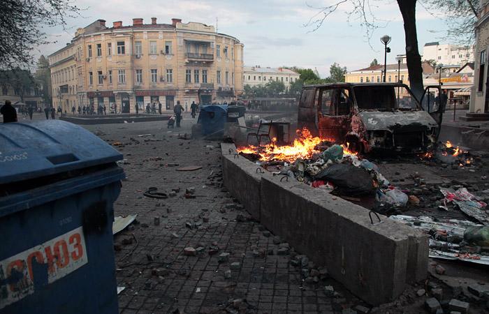Украинский суд признал невиновными обвиняемых по делу о беспорядках в Одессе