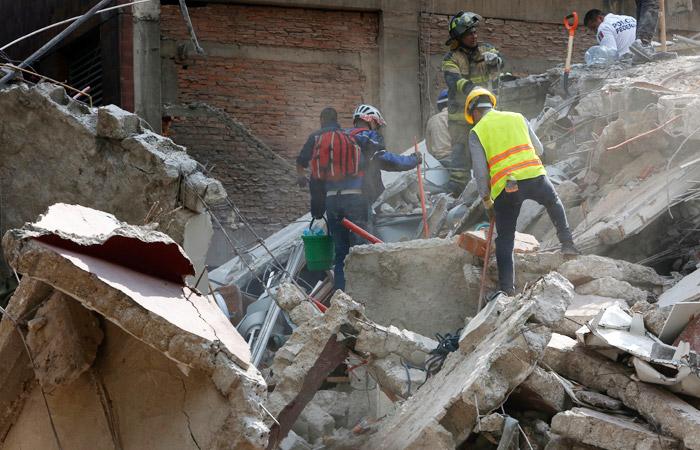 Жители России  непострадали при землетрясении вМексике