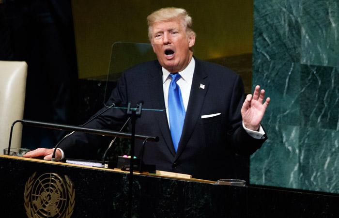 Трамп счел часть стран мира находящимися на пути вад