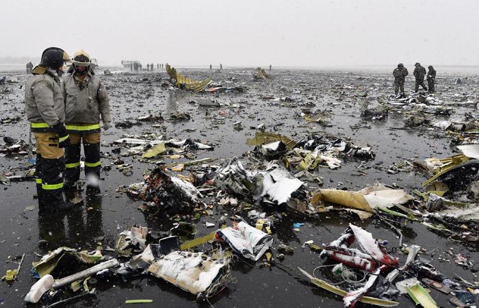 Катастрофу самолета flydubai в Ростове-на-Дону поможет раскрыть производитель дисплеев